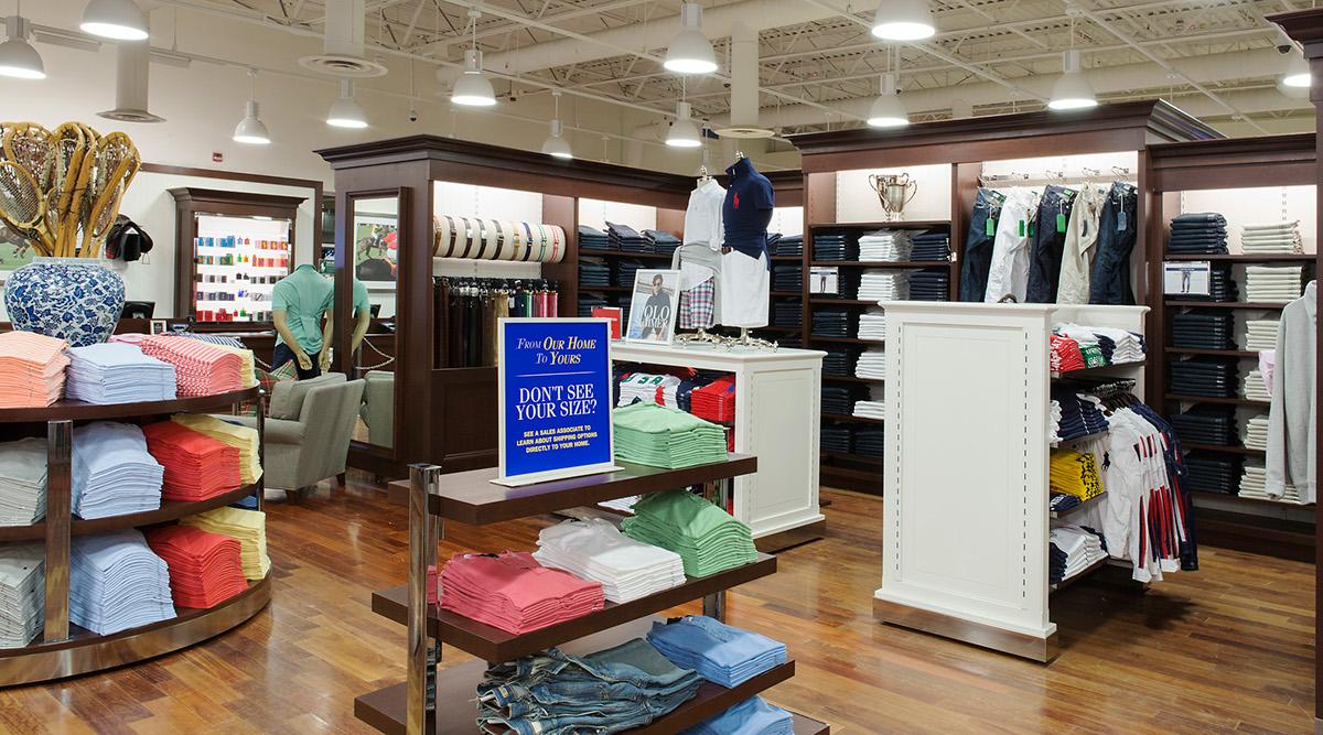 Denim Retail retail display Clothing ralph lauren