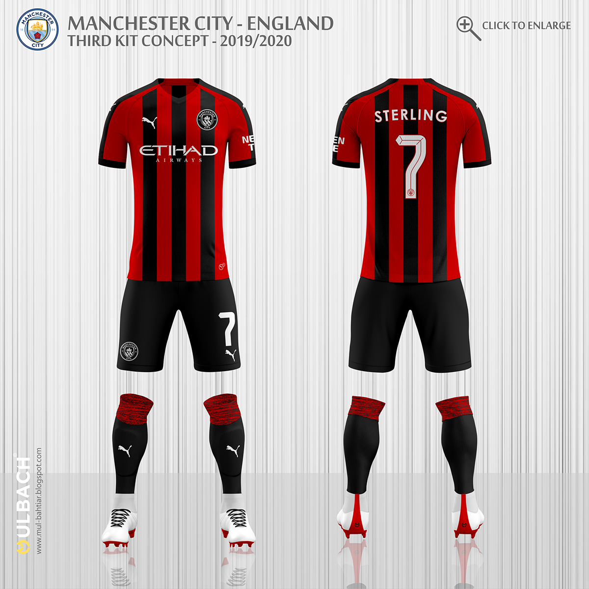 Manchester City 2019/2020 Puma Kits Concept on Behance