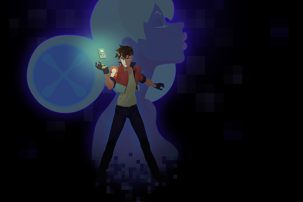 8bit console adventure comics anime manga ios game Hero sexy fantasy game boy pixel weird motion