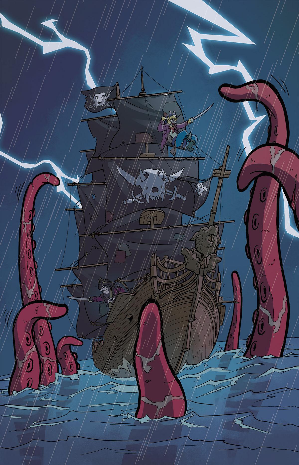 comic ilustracion ILLUSTRATION  libro book children pirata pirate