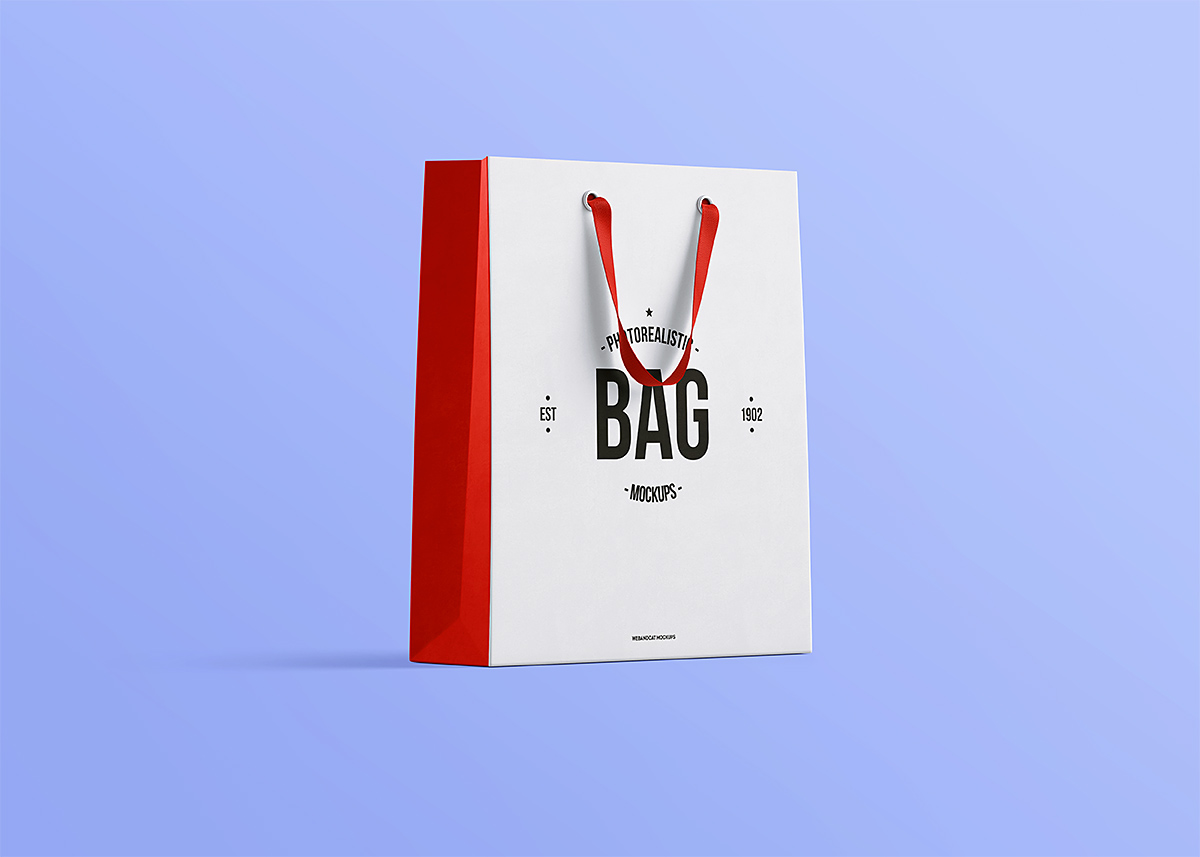 shopping bag mock up free psd on behance