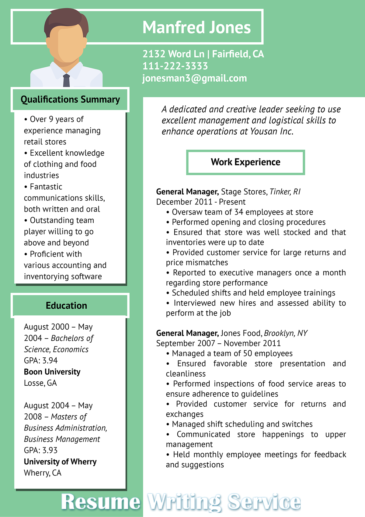 when to use a functional resume