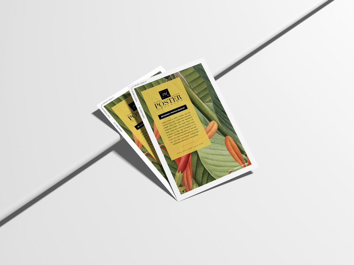 poster Poster Mockup branding  mock-up Mockup free mockup  psd free freebie download
