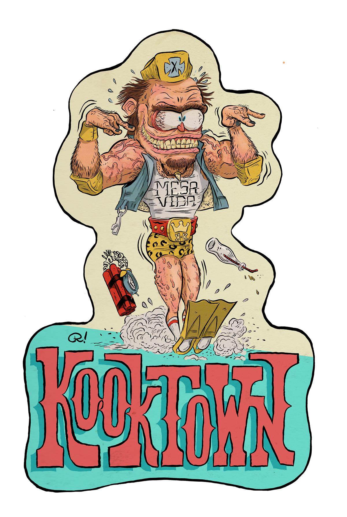 ragnar KOOKS goofballs Weirdohs Halfwits