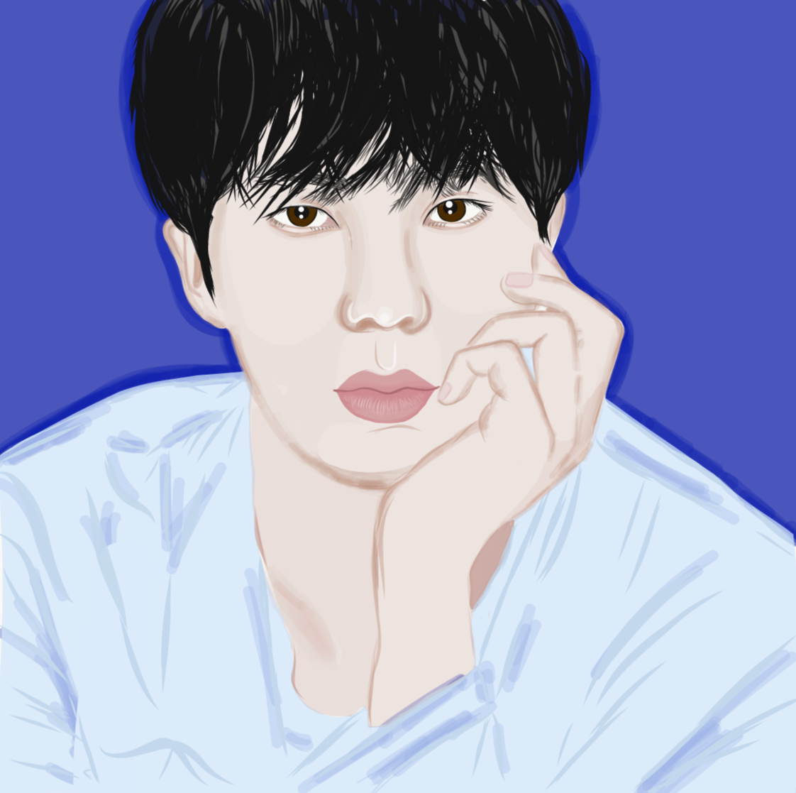 adobe draw,artworks,bts,btsfanart,Digital Art ,Digital Drawing,drawings,fanart,happy birthday jin,ILLUSTRATION ,Jin,kpop,seokjin