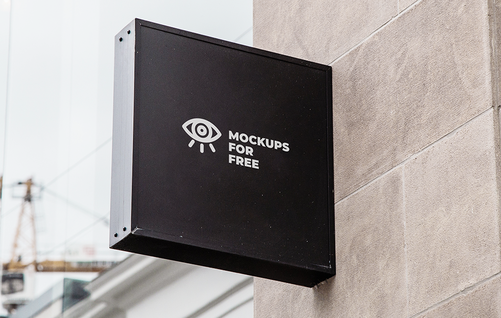 Signboard Mockup Free Psd On Behance