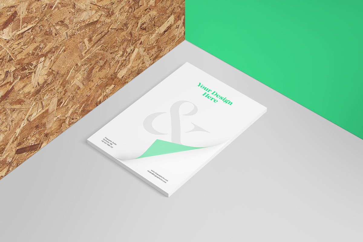 Free Letterhead Mockup On Behance