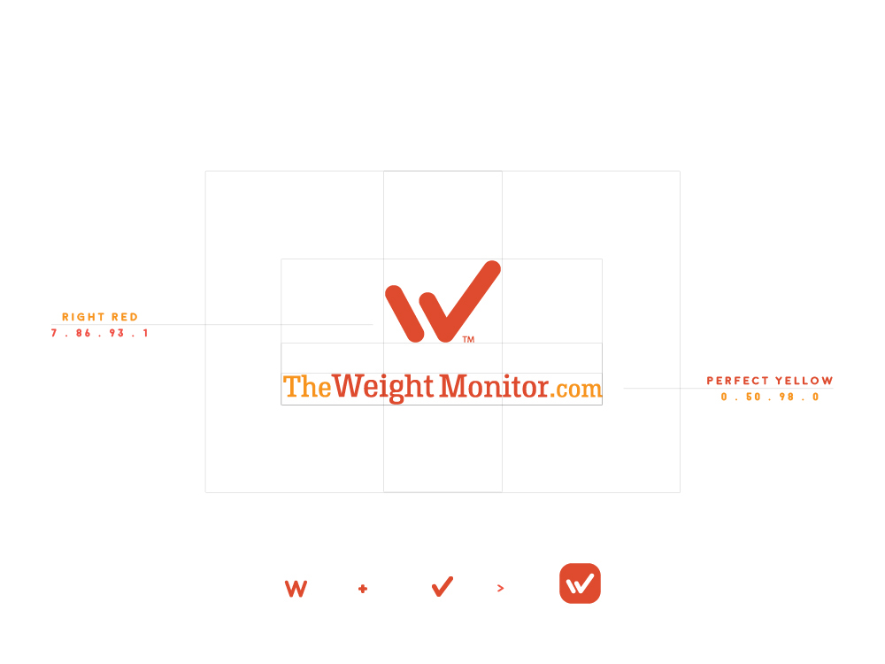 logo brand FIT weight monitor app ecom