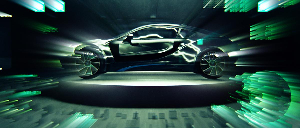 BMW I8 octane 3D