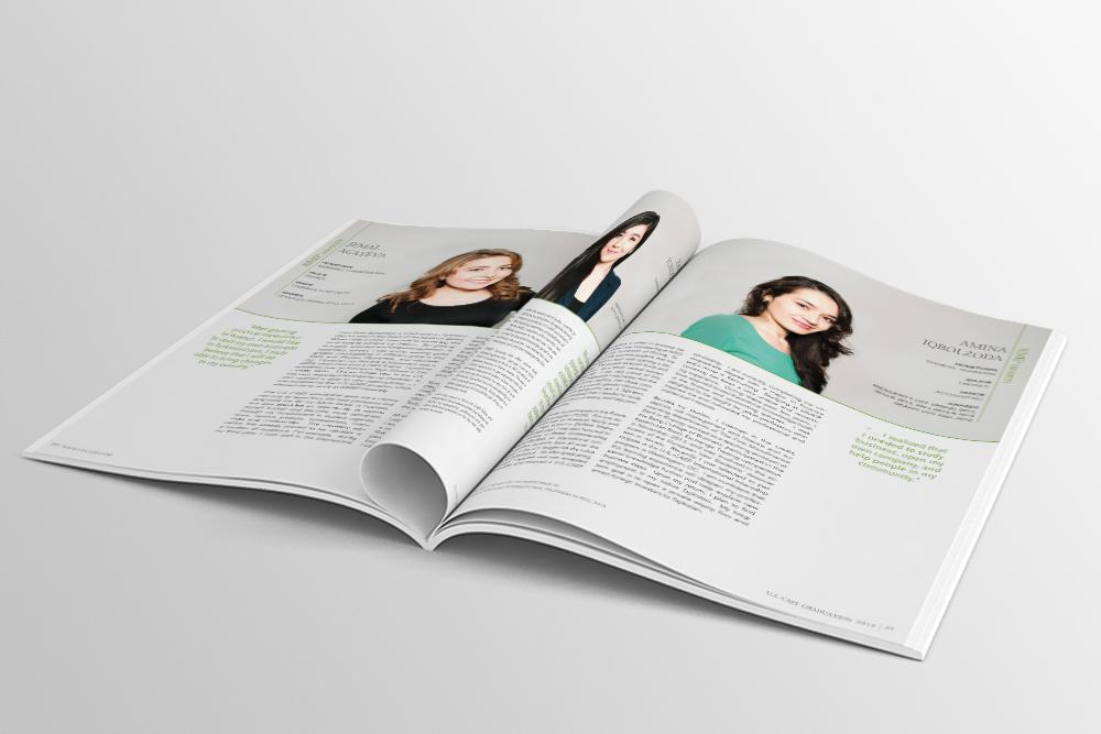 pages design Graduation Book