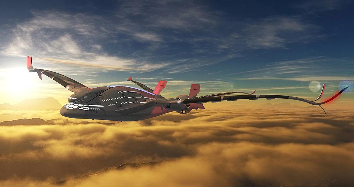 Awwa 183 Qg Quot Progress Eagle Quot Quantum Airplane On Behance