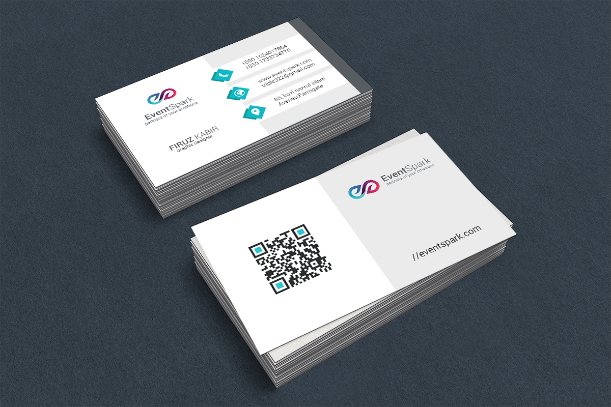 Business Card Design For Event Management Company on Behance