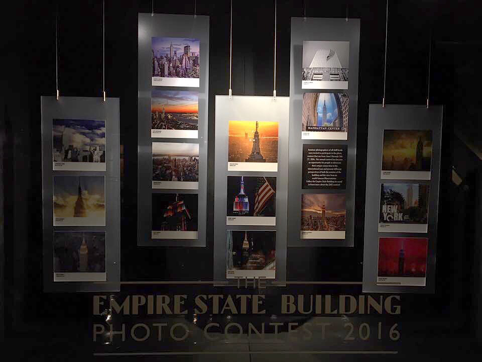 empire state building nyonair FLYNYON Aerial Photography new york city