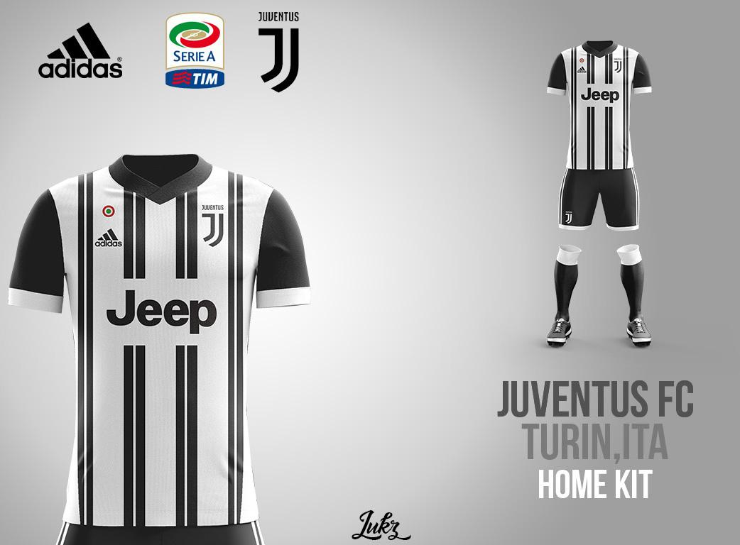 new arrival 8d906 c985b Juventus Fantasy Kit 2017/18 by Lukz on Behance