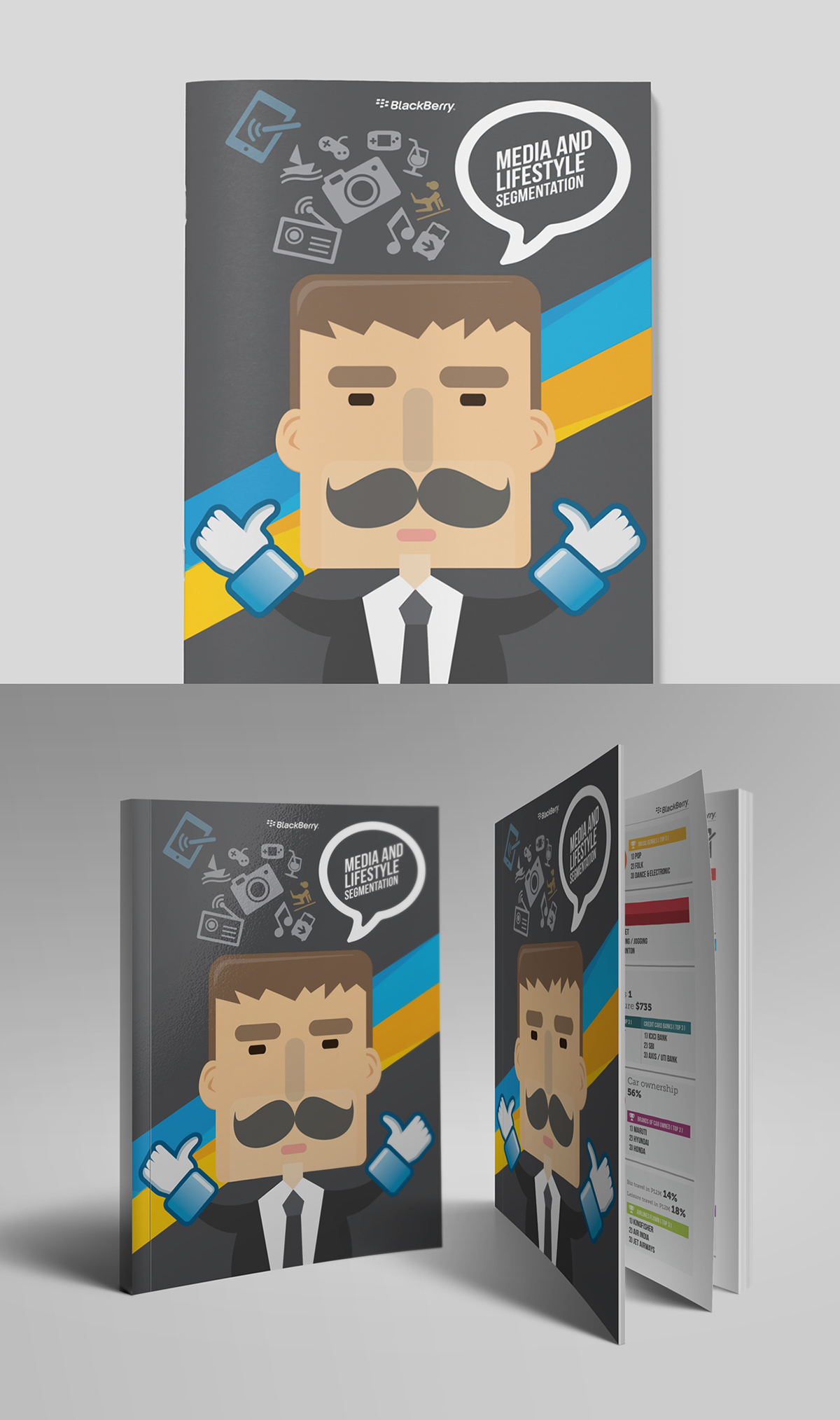 blackberry jam asia booklet and quad fold brochure on behance