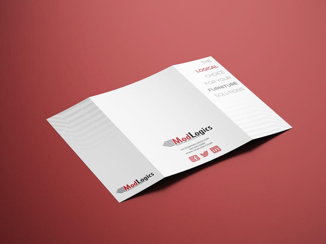 Gatefold brochure Layout graphic design  typography   gatefold brochure Modern Design minimalist