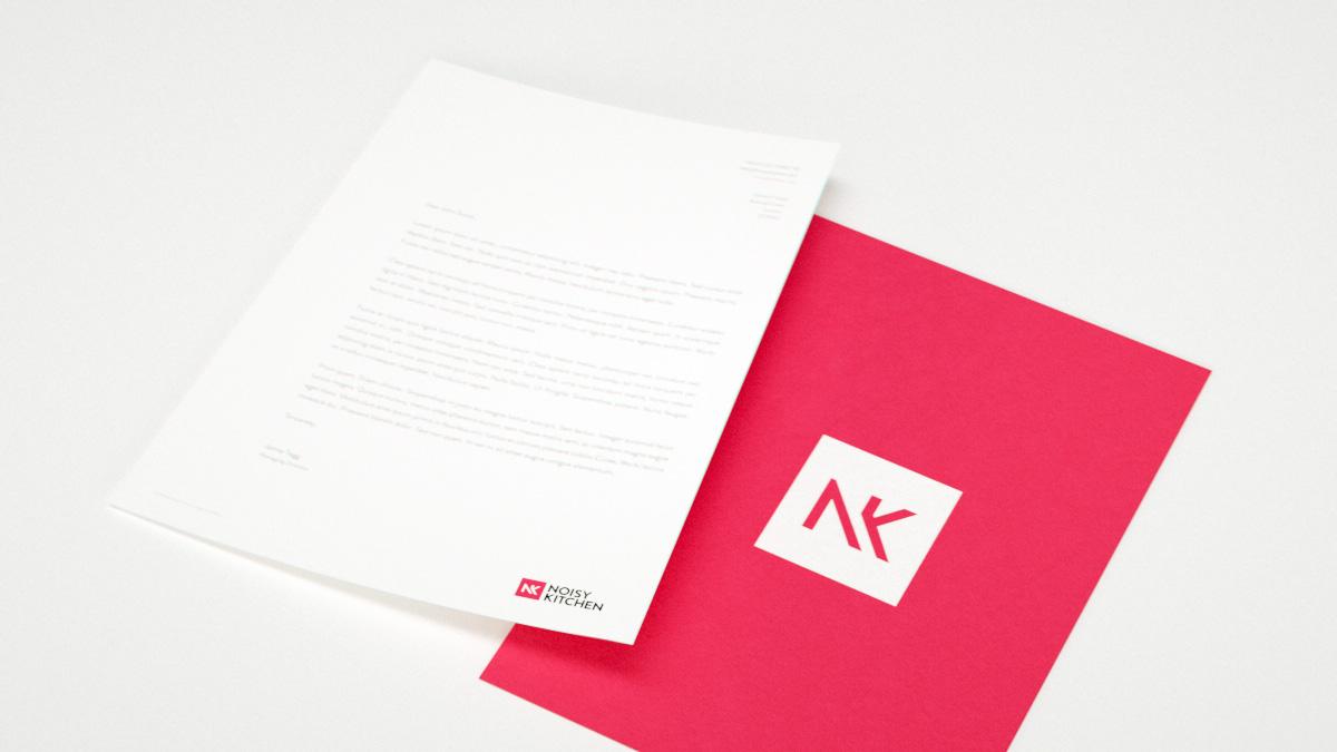 branding  geometric music agency artist dj Booking red