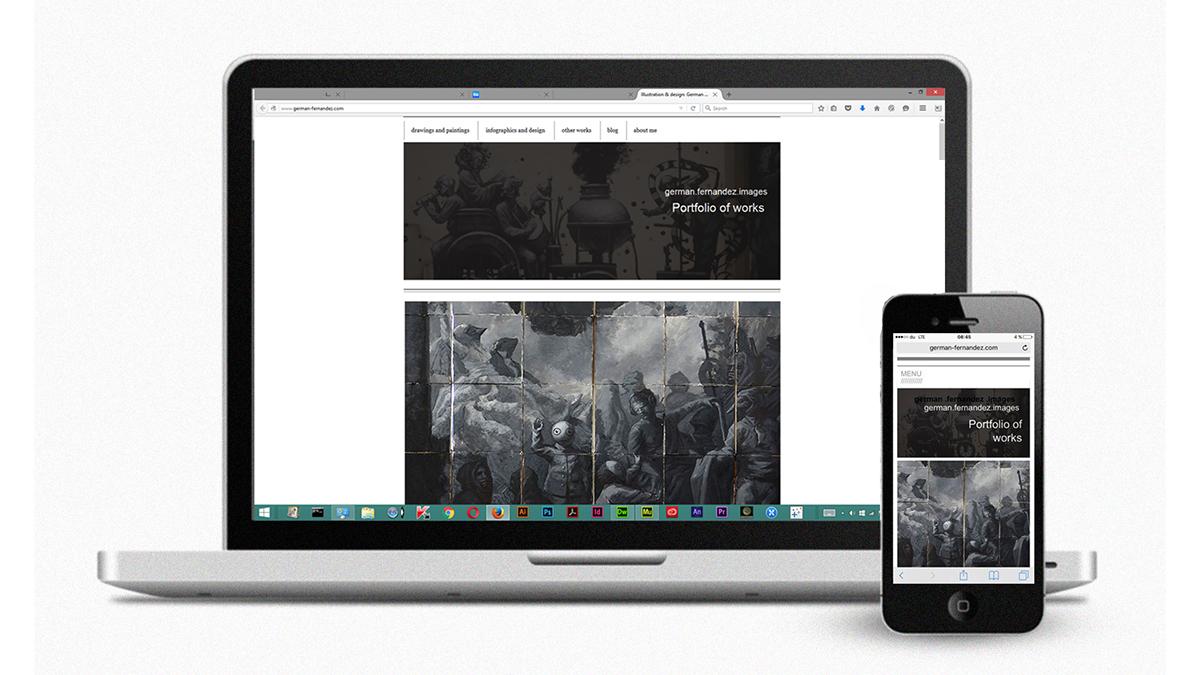 Web portfolio desig