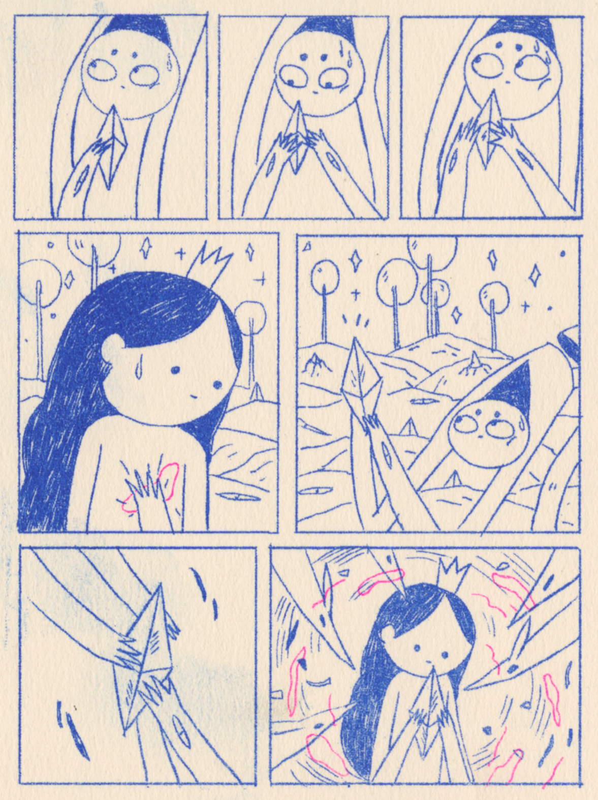 Zine  Riso comic adobeawards