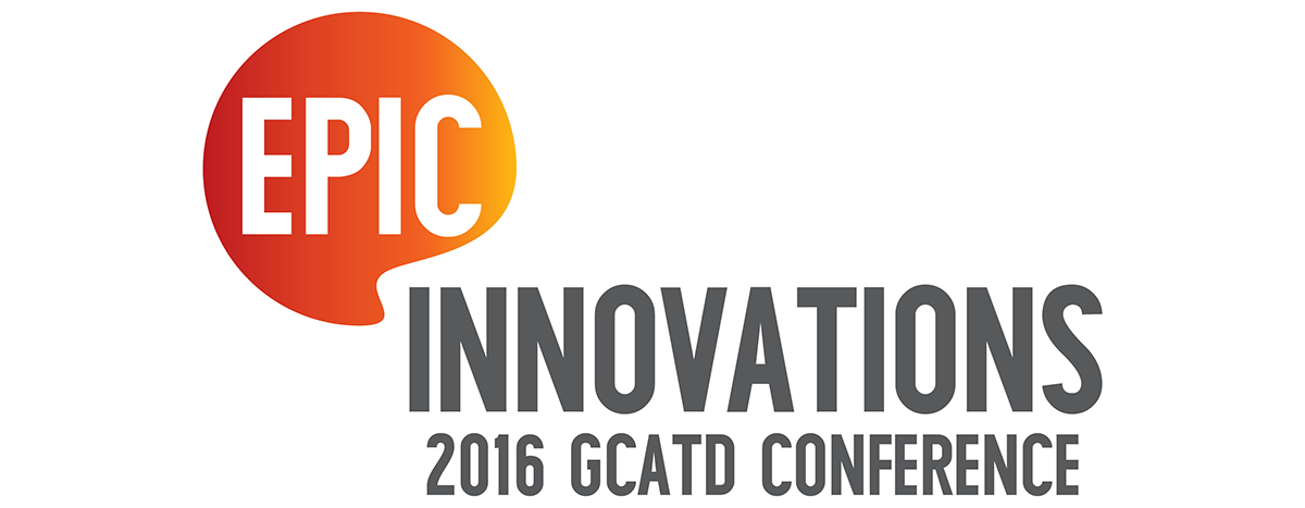 Logo Epic Innovations Gcatd Conference On Behance