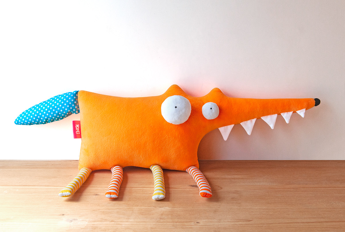Character craft design FOX handmade plush product design  sculpture softsculpture toy design