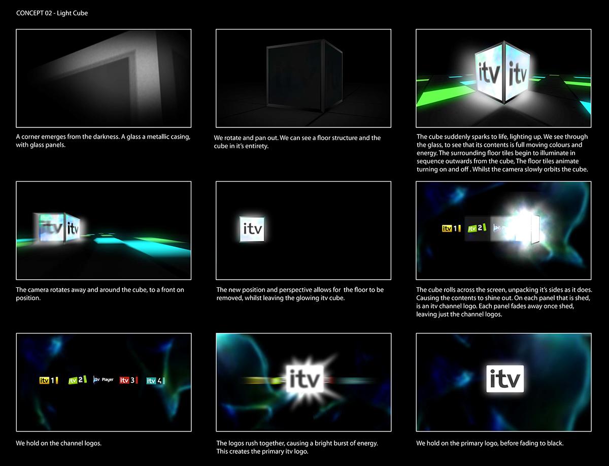 ITV on Behance