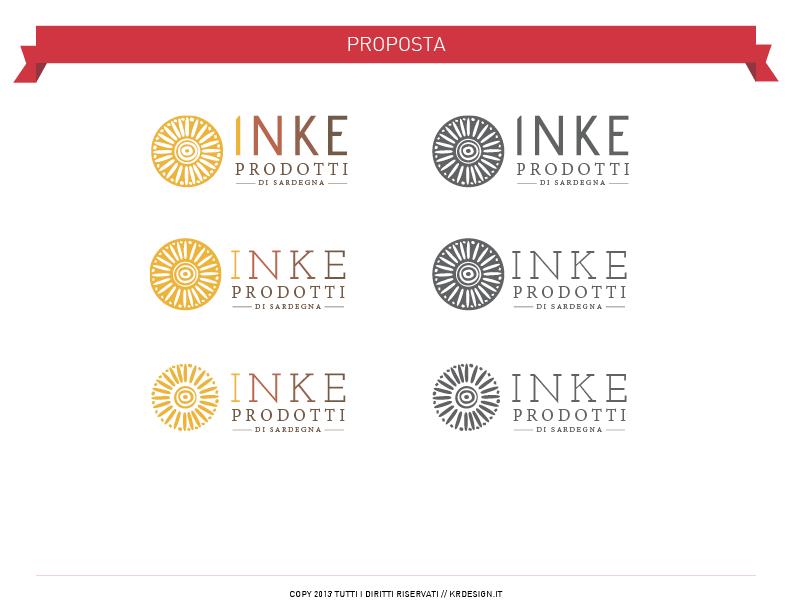 inke Prodotti sardegna logo brand sardinia
