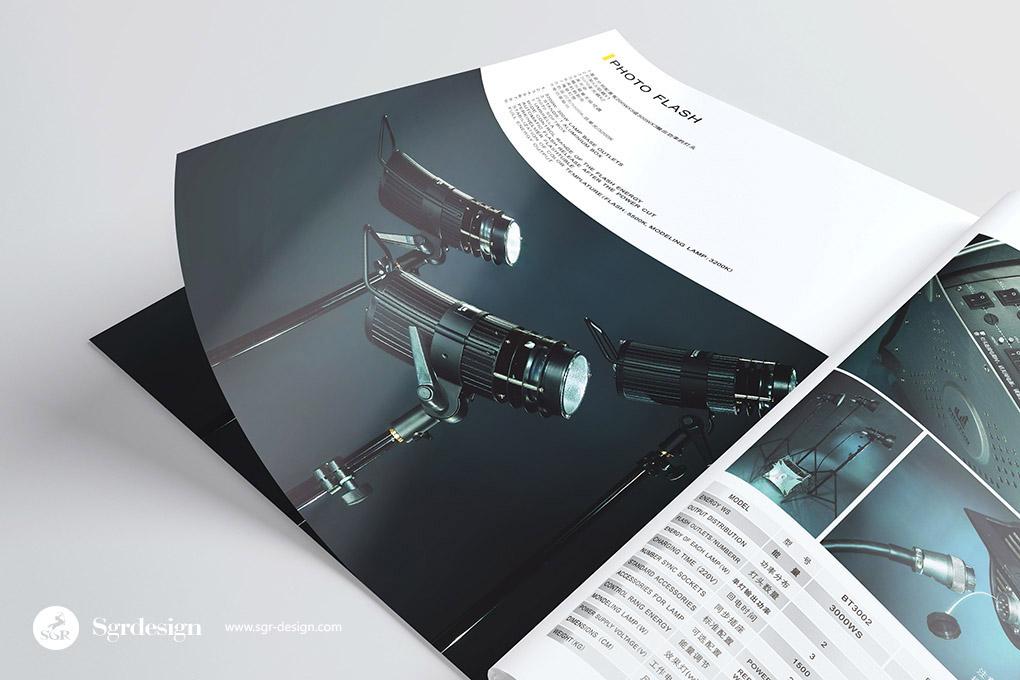 brand Catalogue yellow flash light design sgr-design VI 画册 宣传册 品牌 官网 网站 设计