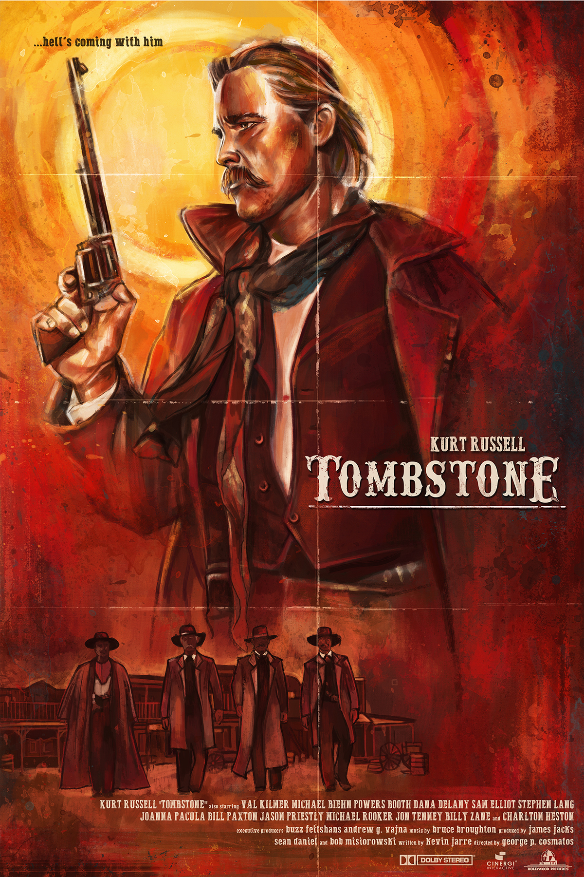 the resurrection of the western genre in the movie tombstone Tom jolliffe on the return of the western of the western cinema runs in cycles a genre may have its run and then have like wyatt earp and tombstone.