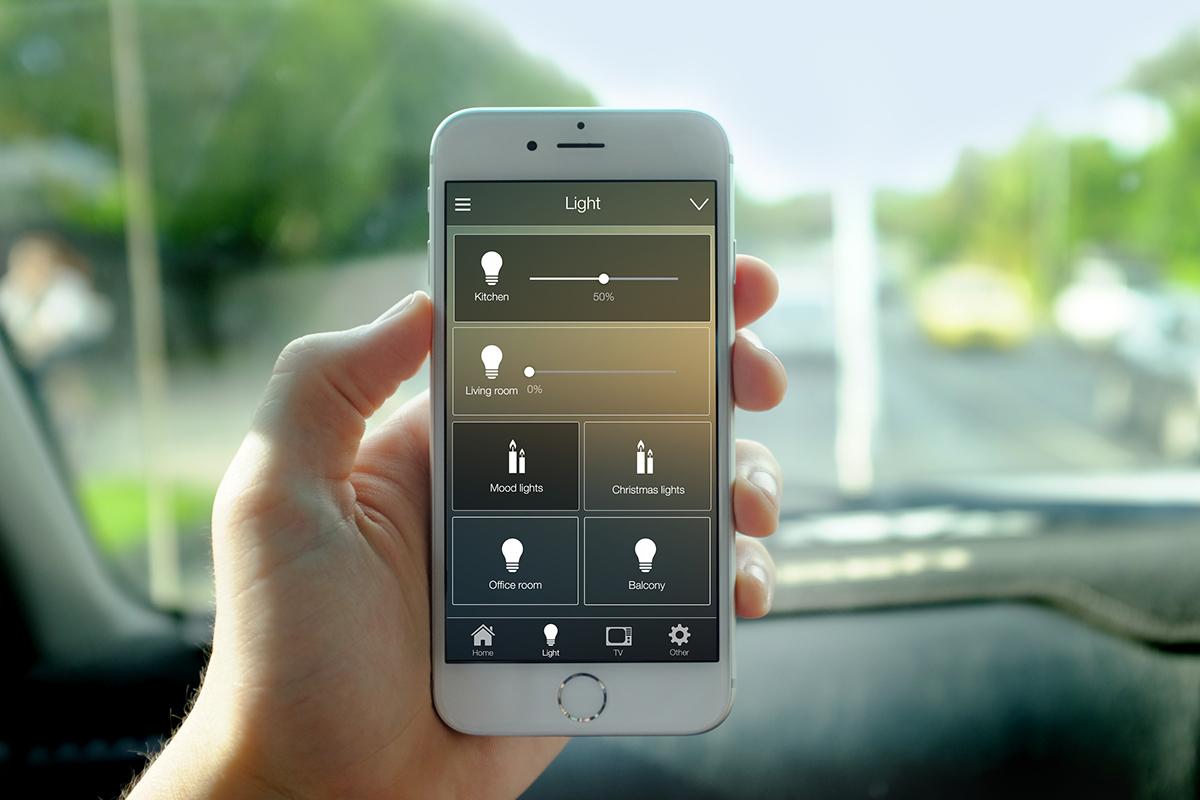 Smart House Smarthouse App Home automatisation app UI UX app Interface