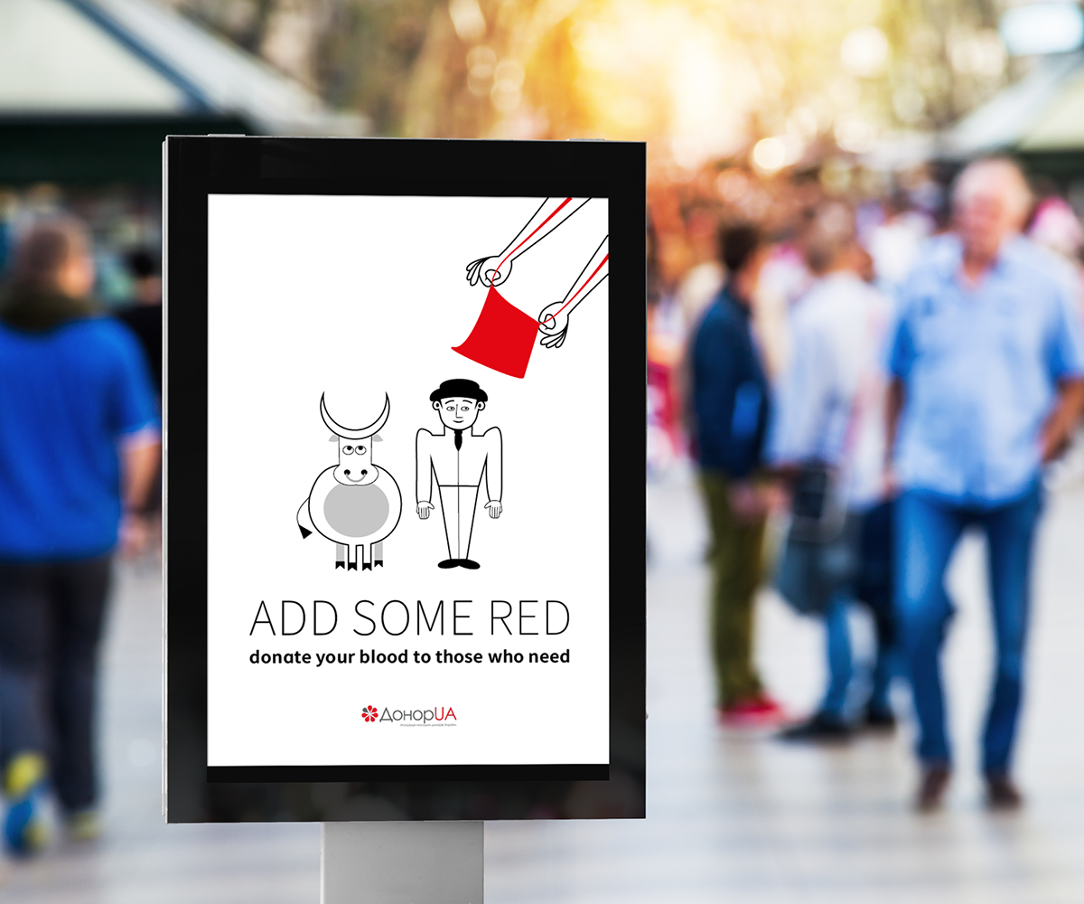 posters blood donation cherry on top add some red red colour