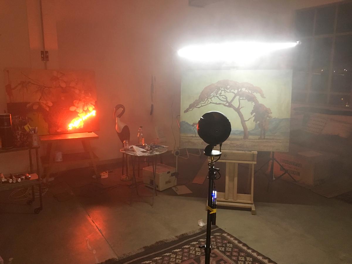 360 photo stereoscopic vr practical lighting studio artist Exhibition  johannesburg