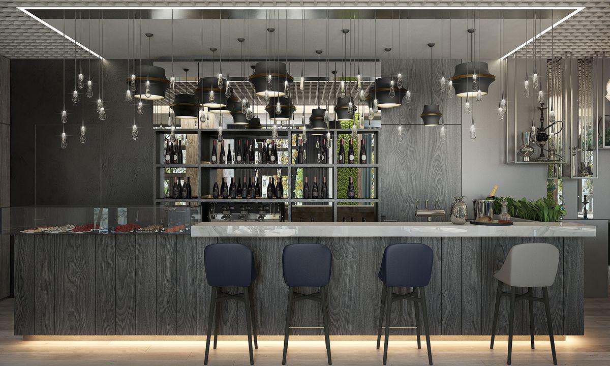 【国外作品】餐饮空间设计