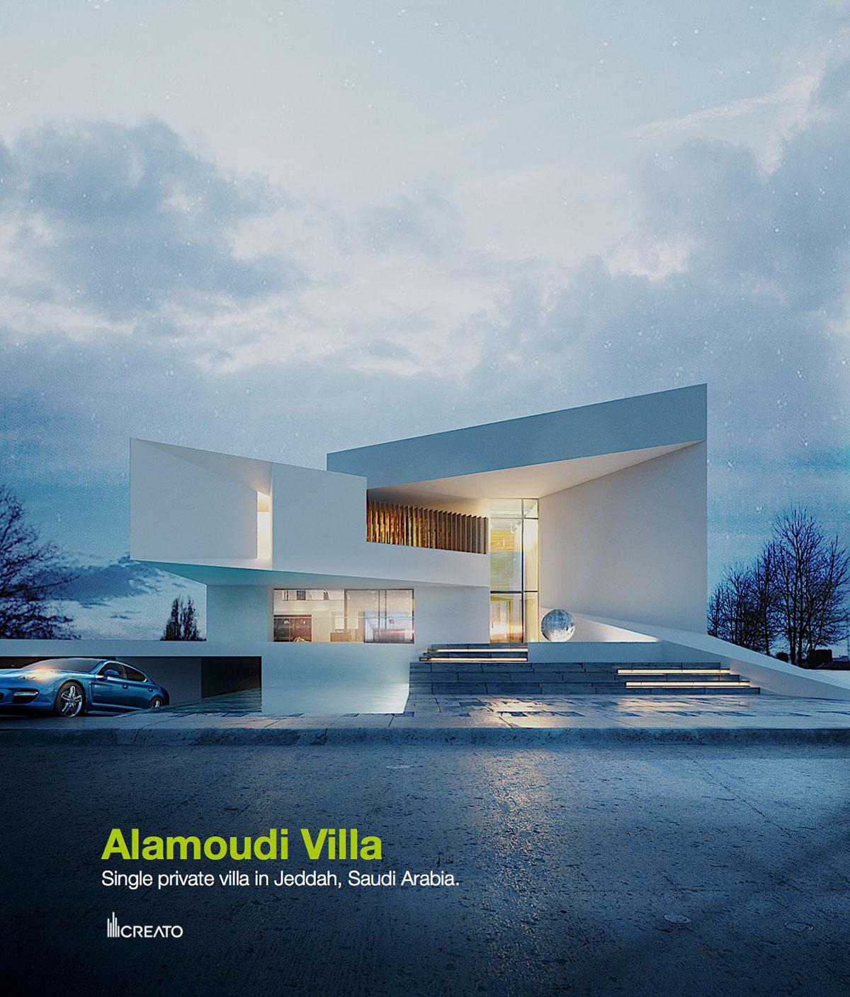 Amoudi Villas Alamoudi Villa On Behance