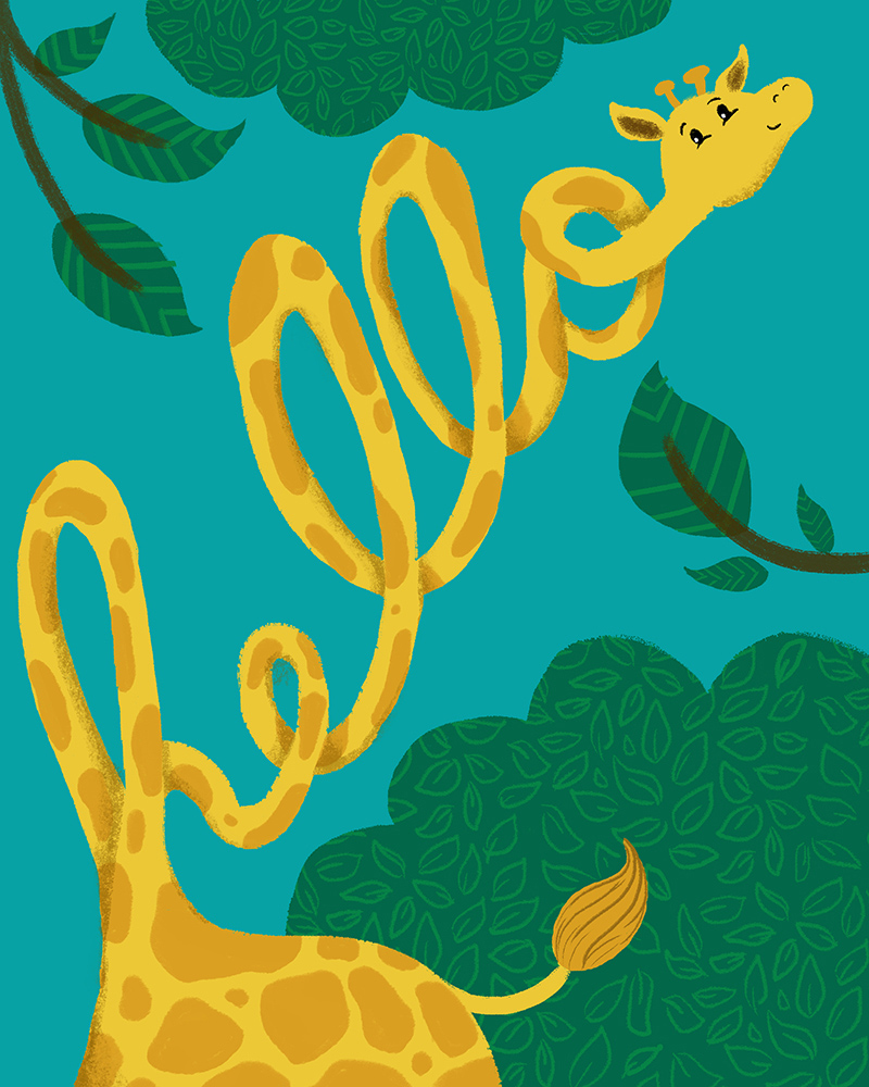 Cute Animal Subliminal Messages Greeting Card Series On Behance