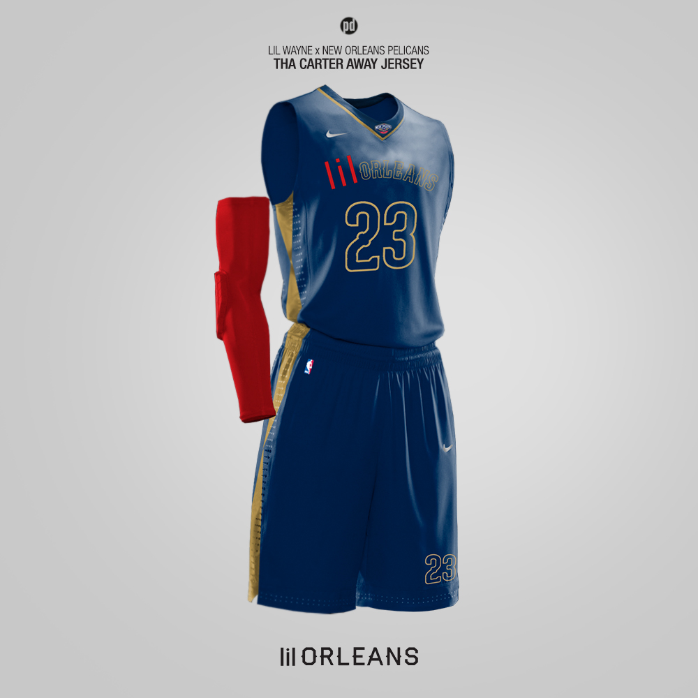 c1a09205c2d Nike x Hip-Hop Artists - Rebrand for 15 NBA Teams on Behance