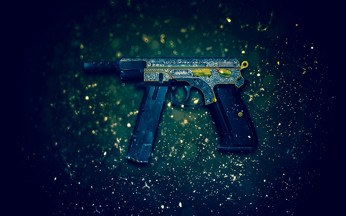 Csgo Weapon Skin Wallpapers On Behance