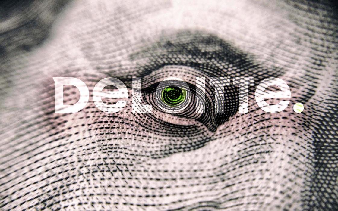 brand brand redesign brand strategy deloitte design financial Logo redesign Rebrand refresh