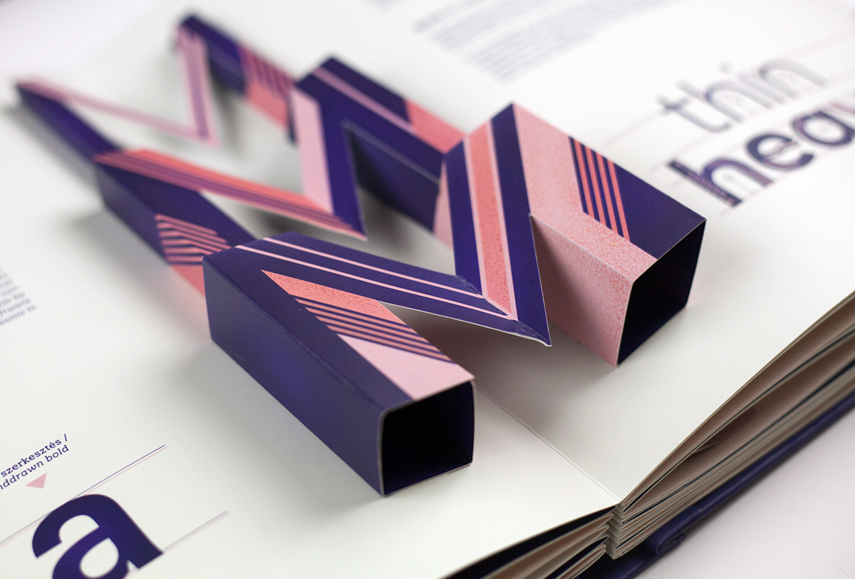Typop Up Basic Rules Of Typography Pop Up Book On Behance