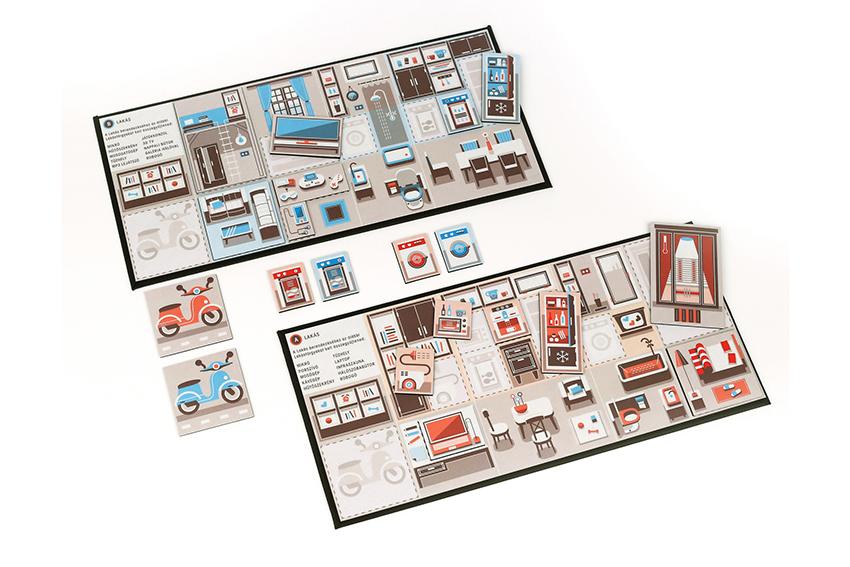 board game Family Game budget smartly gazdálkodj okosan redesign thesis work playing