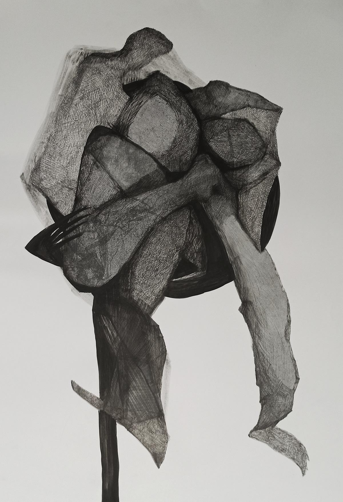 Drawing  fine art ink