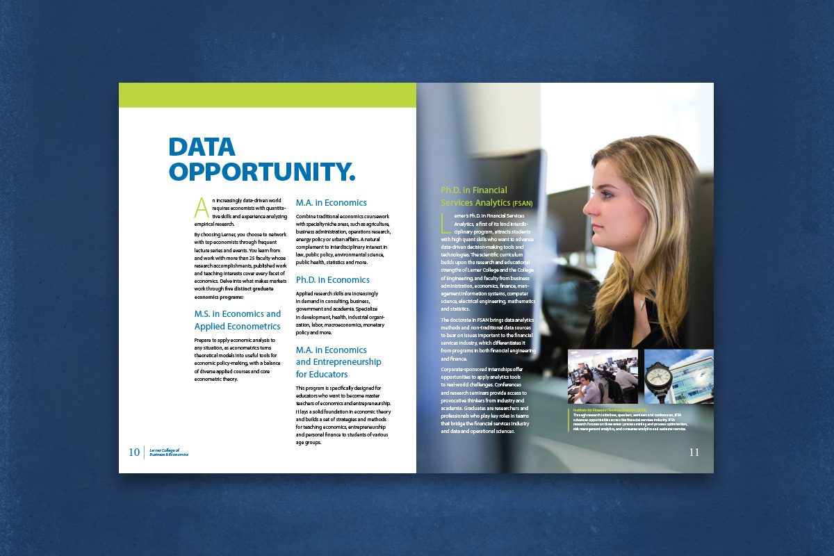 higher education University college viewbook