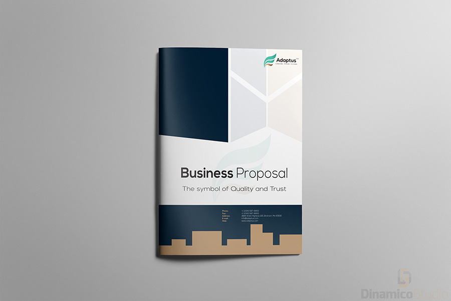 Business proposal brochure template on behance accmission Images