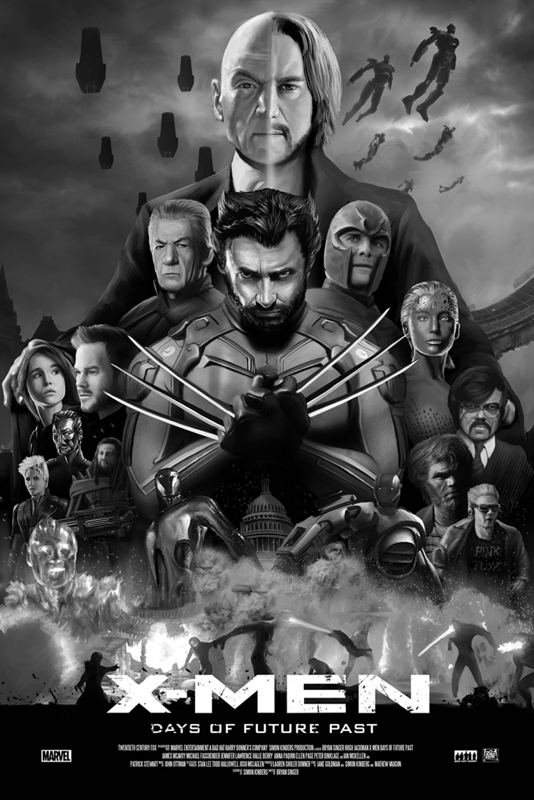 """X-MEN """"Days of the future past"""" on Behance"""