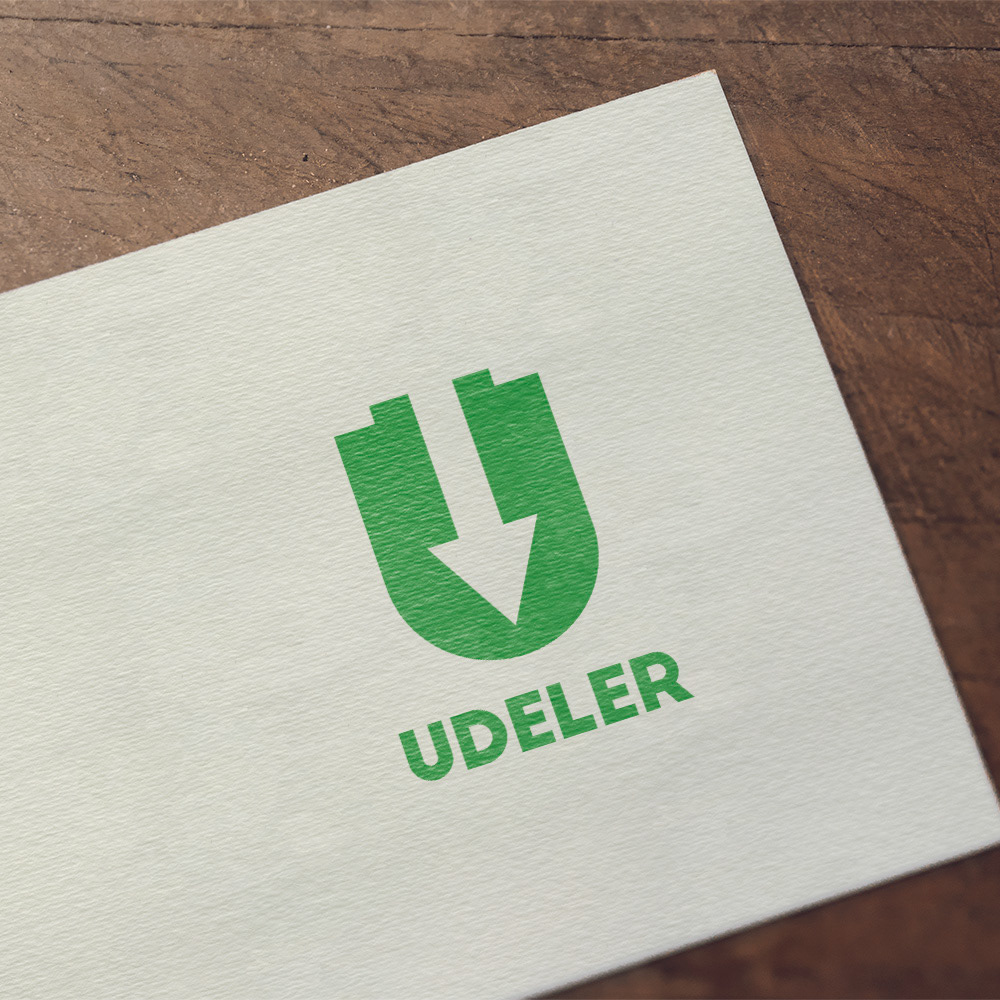 Logo Design - Udeler (Udemy Downloader) on Behance