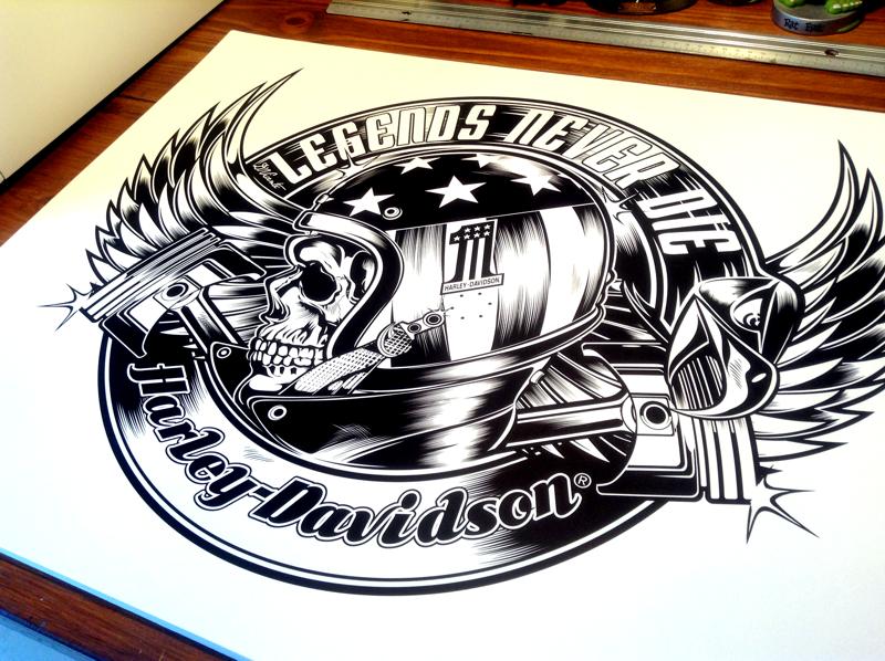 Harley Davidson Usa On Behance