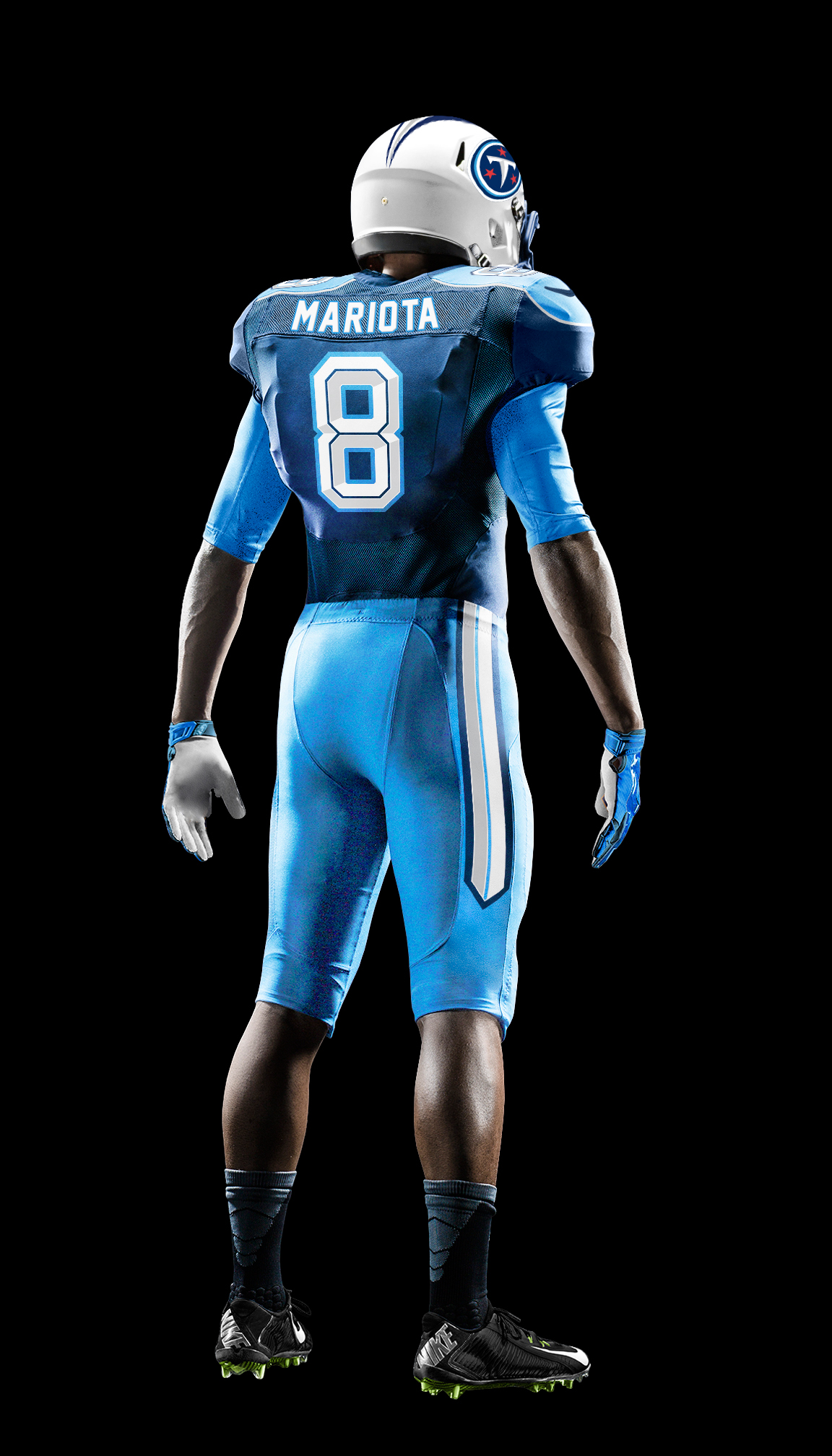 low priced d51e3 b490f Tennessee Titans Uniform Concept on Behance