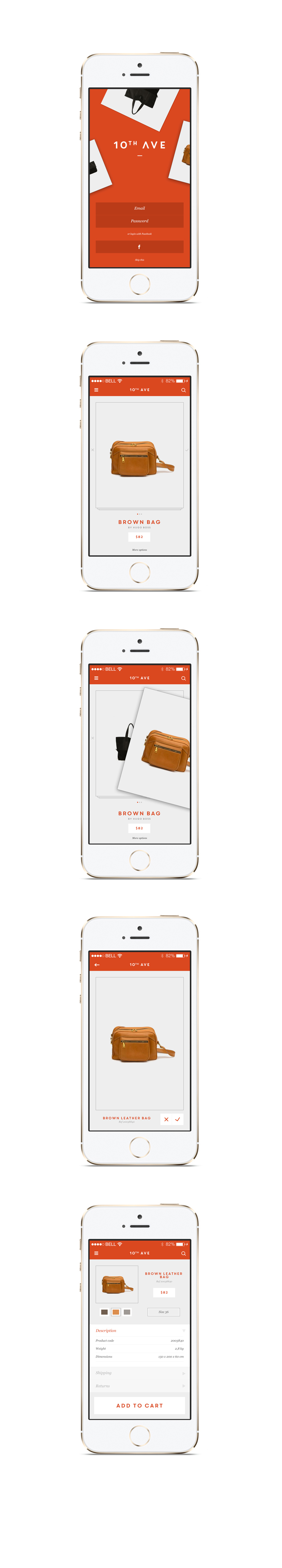 app app design shopping app shop