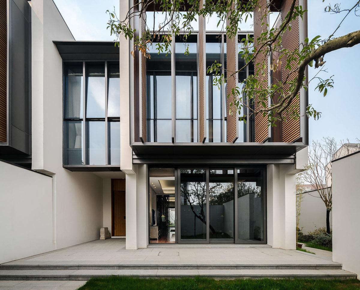 Seth Villa >> Jinghope Villas - SCDA Architects on Behance