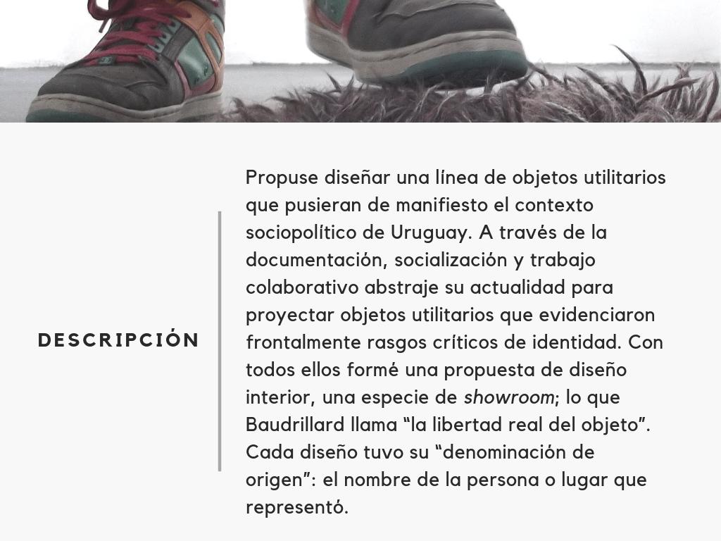 colectivo diseño EAC interiores Montevideo uruguay